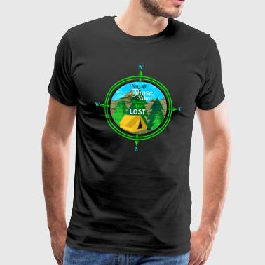 Nomad in the Mountain - Mannen Premium T-shirt