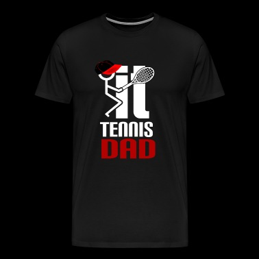 tennis tenis ball court set game sand match winner - Men's Premium T-Shirt