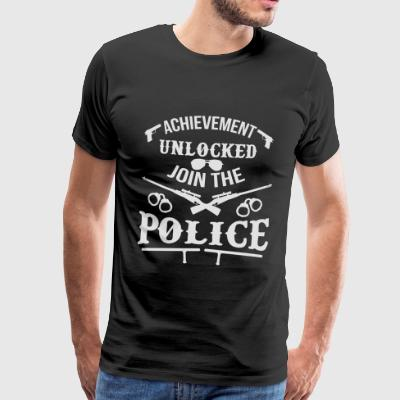 Video Game Police Officer - politiet - Premium T-skjorte for menn