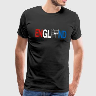 England in guitar chords - Men's Premium T-Shirt