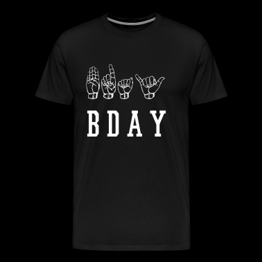 bday - Men's Premium T-Shirt