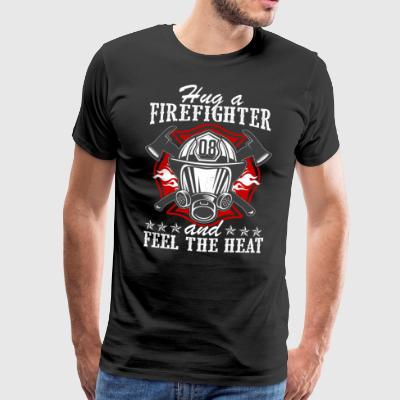 Firefighter - Føl varmen - Premium T-skjorte for menn