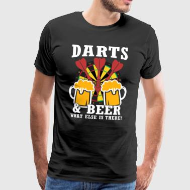 darts and beer - Männer Premium T-Shirt