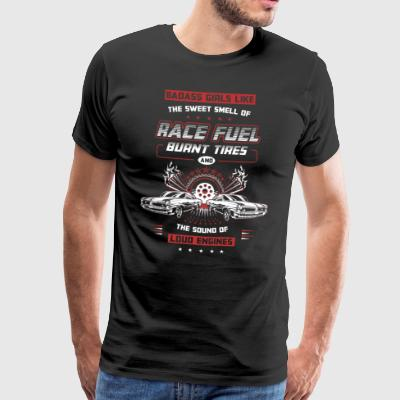 BADASS GIRLS RACING - Men's Premium T-Shirt