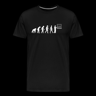 Biology teacher evolution gift - Men's Premium T-Shirt