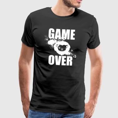 Gamer - Game Over - Premium T-skjorte for menn