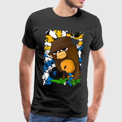 Holy Monkey - Mannen Premium T-shirt