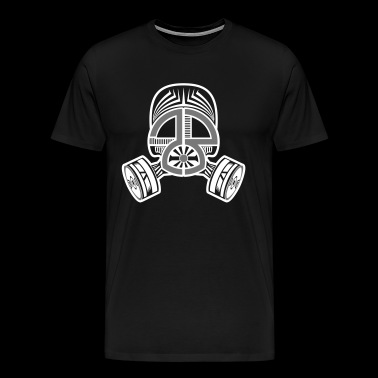 23 Tekno gas mask - Men's Premium T-Shirt