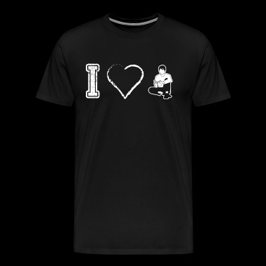 I love reading book books - Men's Premium T-Shirt
