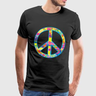 Peace / peace symbol - Men's Premium T-Shirt