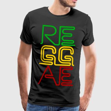 REGGAE - Men's Premium T-Shirt