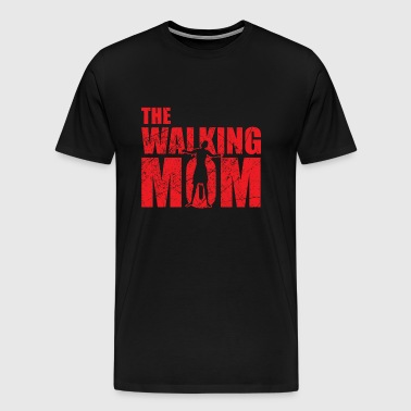 The walking Mom / Mutter Mama Ehefrau Geschenk - Männer Premium T-Shirt