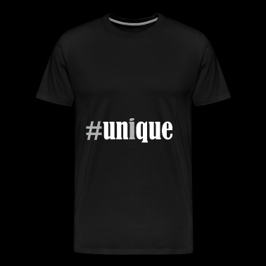 #unique dicton / dicton unique - T-shirt Premium Homme