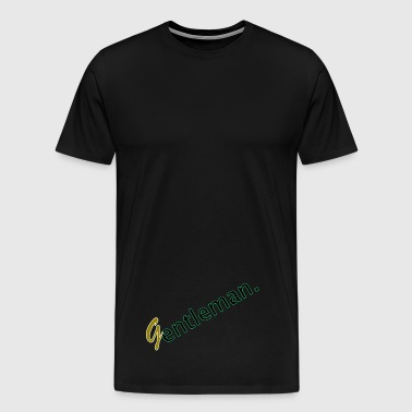 Gentleman Green Gold - Männer Premium T-Shirt