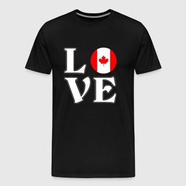 I love Canada - Canada - Adventure - Men's Premium T-Shirt