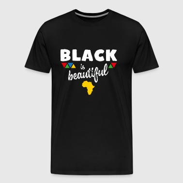 Black is beautiful - Herre premium T-shirt