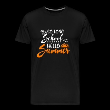 So long school - Men's Premium T-Shirt