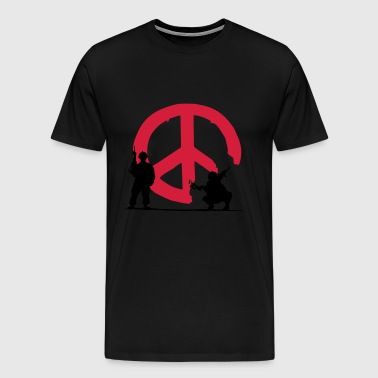 peace not war - Men's Premium T-Shirt