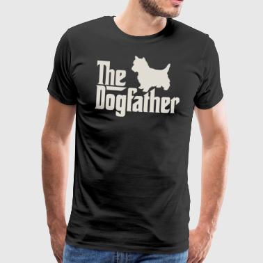 Dogfather - West Highland White Terrier - Koszulka męska Premium