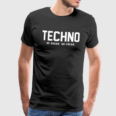 Dark Techno - Men's Premium T-Shirt