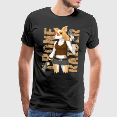 T-Bone Raider - Men's Premium T-Shirt