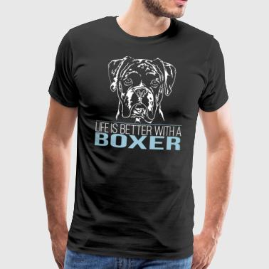 BOXER life is better - Männer Premium T-Shirt