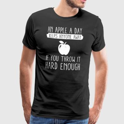 An Apple A Day - Männer Premium T-Shirt