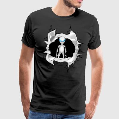Alien inside me - Men's Premium T-Shirt