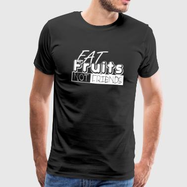 Vegan - Vegan - Veganism - Healthy - Lifestyle - Men's Premium T-Shirt