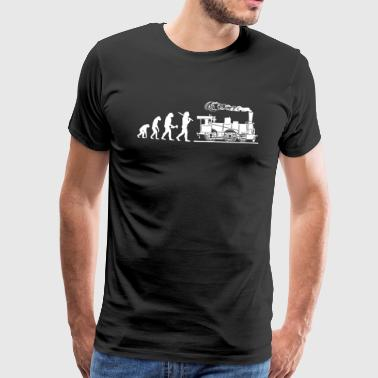 Locomotive Engine Driver Train Driver Gift - Men's Premium T-Shirt