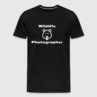 Wildlife Photographer - T-shirt Premium Homme