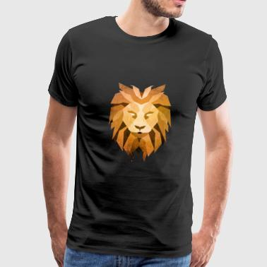 LION - King of the Beasts - Men's Premium T-Shirt