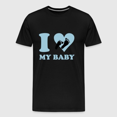 I love my baby - Men's Premium T-Shirt