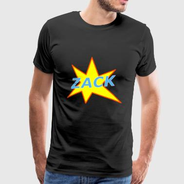 Cool comic action effect Zack - Men's Premium T-Shirt