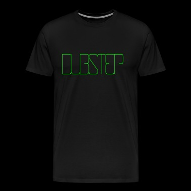 Dubstep 001 dessins ronds - T-shirt Premium Homme