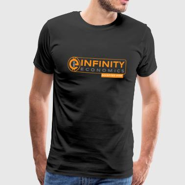 Infinity Economics Accepted Here - Männer Premium T-Shirt