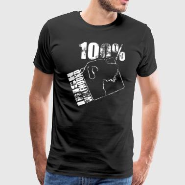 IRISH WOLFHOUND 100 WILSIGNS - Men's Premium T-Shirt