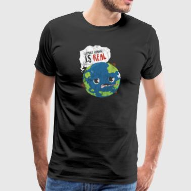 Saying politics climate climate change CO2 disaster - Men's Premium T-Shirt