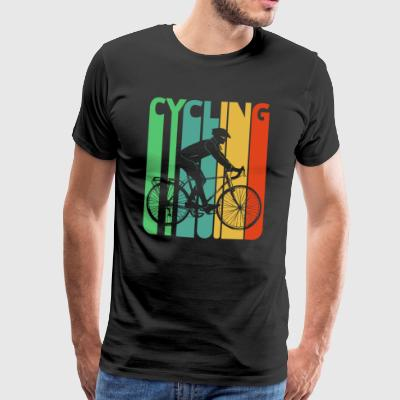 Vintage Retro Cycling Gifts voor fietsers. Fiets - Mannen Premium T-shirt