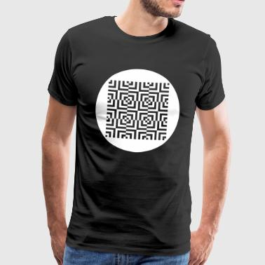 Tekno 23 Corp Circle - Men's Premium T-Shirt