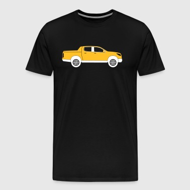 Pick-up truck - Mannen Premium T-shirt