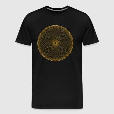 Flower of Life - Chakra Flower - Men's Premium T-Shirt