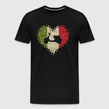I love scooters - scooter moped Italy two wheel bike - Men's Premium T-Shirt