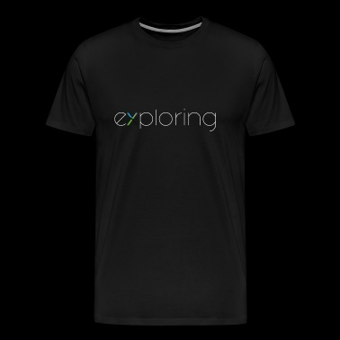 Exploring - Men's Premium T-Shirt