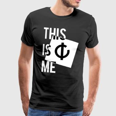 This is me + logo - Men's Premium T-Shirt