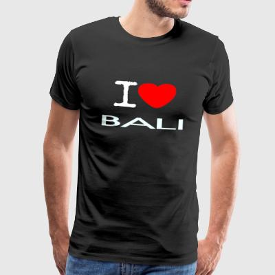 I LOVE BALI - Men's Premium T-Shirt