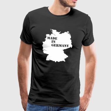 Made in Germany. German quality. Germany - Men's Premium T-Shirt