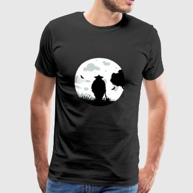Le clown Nuit - T-shirt Premium Homme