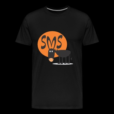 SMS Jackass - Men's Premium T-Shirt