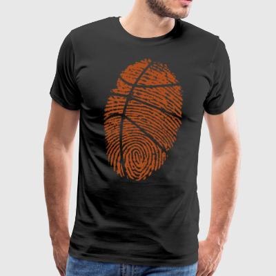 Basketball-DNA - Herre premium T-shirt